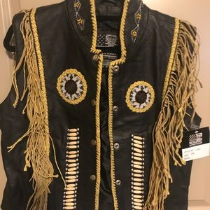 Other - Fringed Beaded Vest